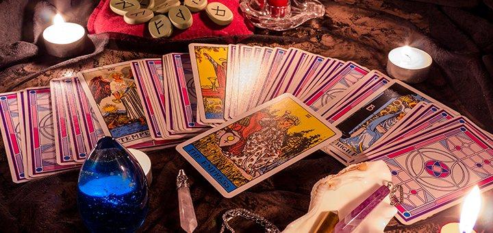 Tarot cards diagnostics and divination - Tarot cards divination