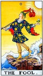 Tarot cards meaning: The Fool