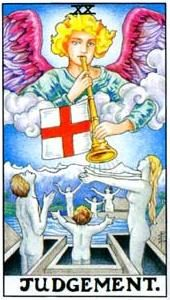Tarot cards meaning: The Last Judgment