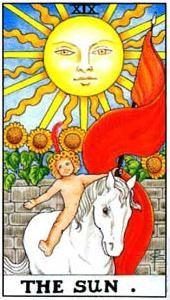 Tarot cards meaning: The Sun