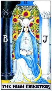 Tarot cards meaning: The High Priestess