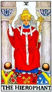Tarot cards meaning: The Hierophant