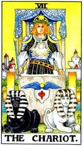 Tarot cards meaning: The Chariot