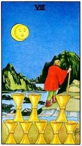 Tarot cards meaning: Eight of Cups
