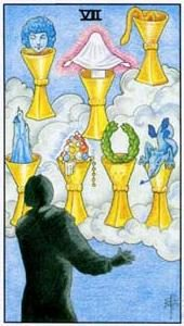 Tarot cards meaning: Seven of Cups