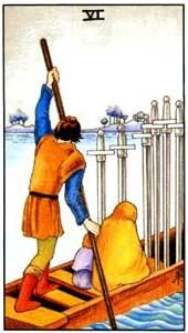 Tarot cards meaning: Six of Swords