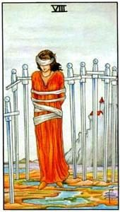 Tarot cards meaning: Eight of Swords