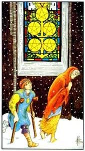 Tarot cards meaning: Five of Pentacles