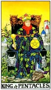 Tarot cards meaning: King of Pentacles