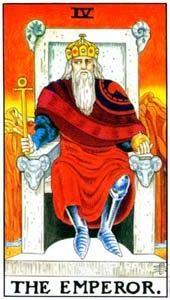 Význam tarotových kariet: Cisár