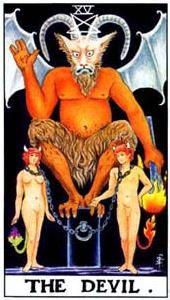 Význam tarotových kariet: Diabol