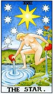 Tarot cards meaning: The Star