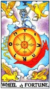 Tarot cards meaning: Wheel of Fortune