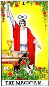 Význam tarotových karet: Mág