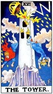 Význam tarotových kariet: Veža