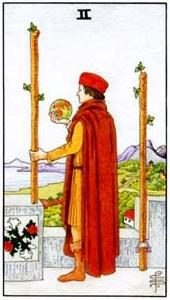 Tarot cards meaning: Two of Wands