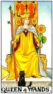 Význam tarotových kariet: Žezlová kráľovná