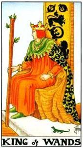 Význam tarotových karet: Žezlový král