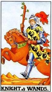 Tarot cards meaning: Knight of Wands