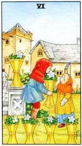 Význam tarotových kariet: Kalichová šestka