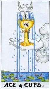 Tarot cards meaning: Ace of Cups