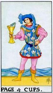 Význam tarotových karet: Kalichová chlapec