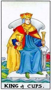 Význam tarotových kariet: Kalichový kráľ