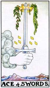 Tarot cards meaning: Ace of Swords