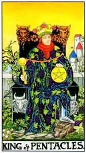 Význam tarotových kariet: Mincový kráľ